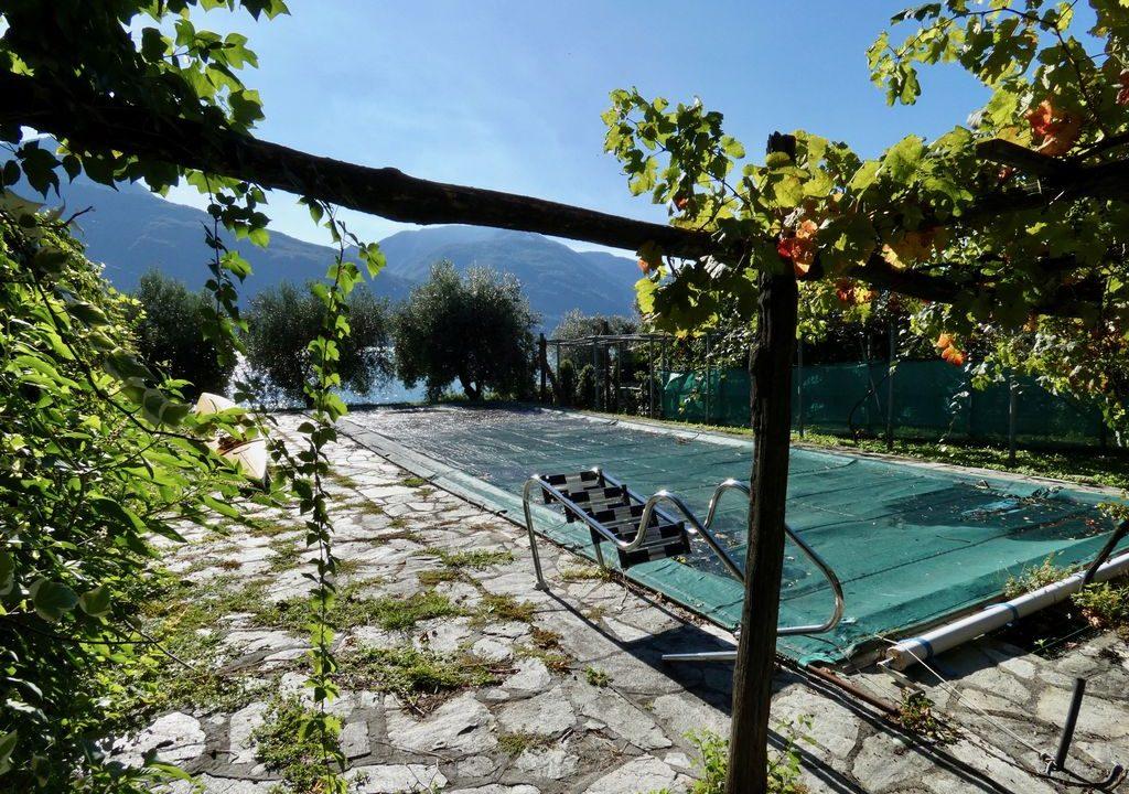 Comer See Pianello del Lario Villa Direkt am See