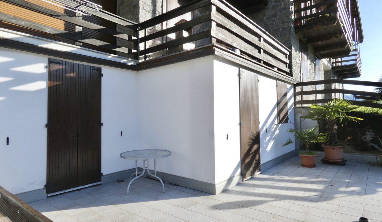 Comer See Gravedona ed Uniti Wohnung mit Terrasse