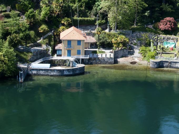 Villa Bellagio Front Lake Como with Bootshaus