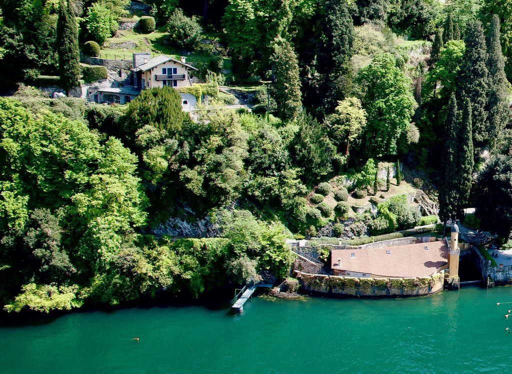 Comer See Villa Direkt am See Torno