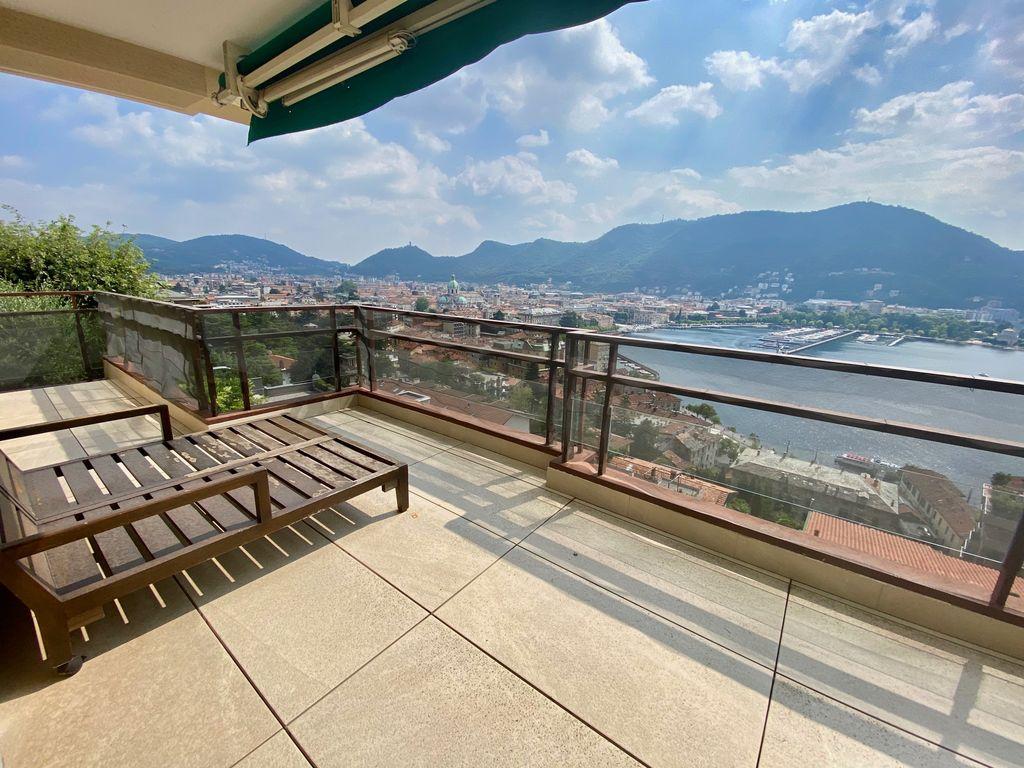 Comer See Como Stadtzentrum Wohnung mit Terrasse