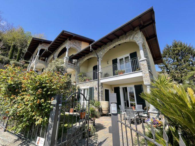 Comer See San Siro Haus mit Balkon, Garten und Seeblick - villa