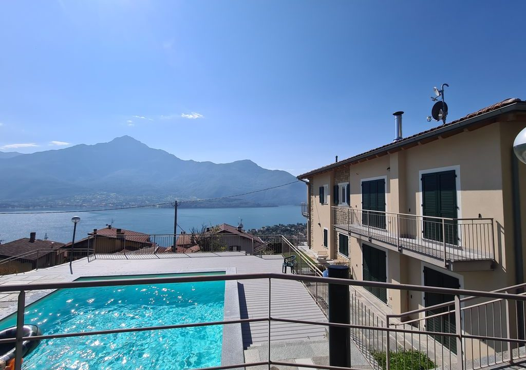 Comer See Domaso Residenz mit Schwimmbad