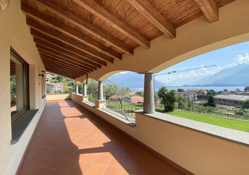Comer See Domaso Villa mit Schwimmbad und Seeblick - terrasse