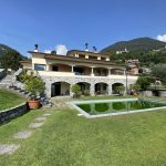 Comer See Domaso Villa mit Schwimmbad und Seeblick