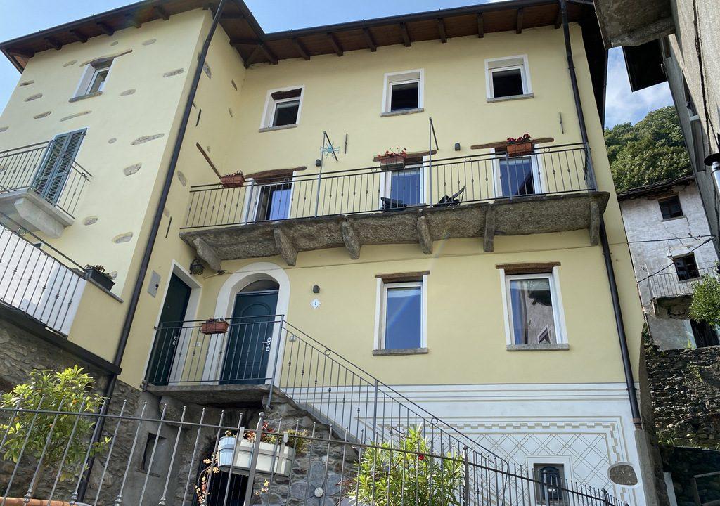 Comer See San Siro Haus mit Terrasse und Seeblick mobliert