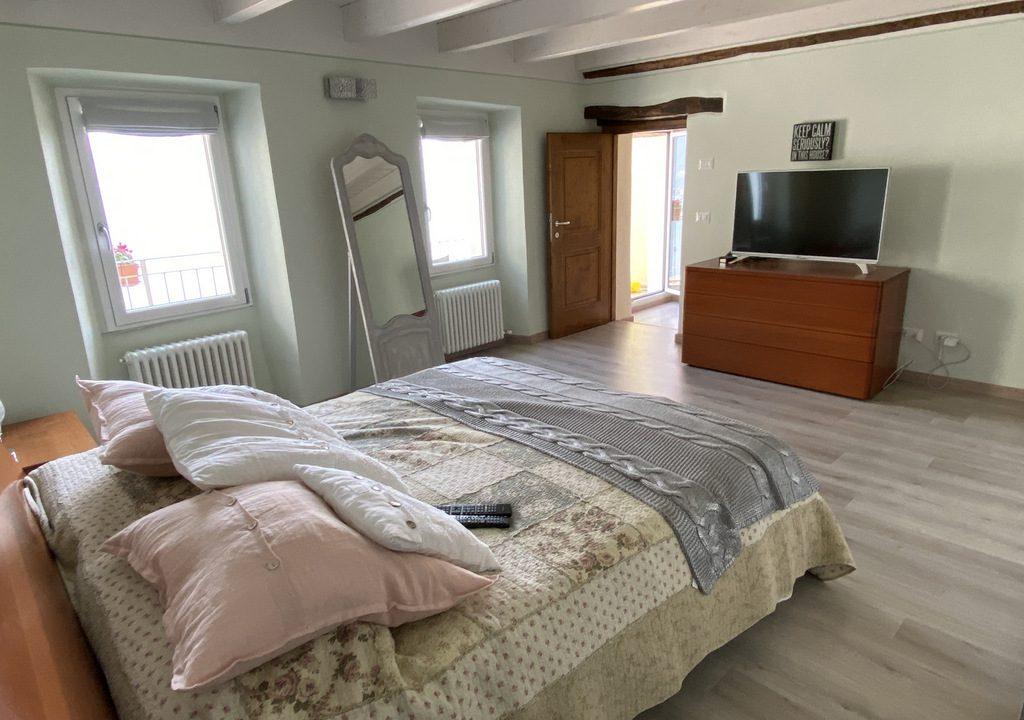 Comer See San Siro Haus mit Terrasse und Seeblick - mobliert