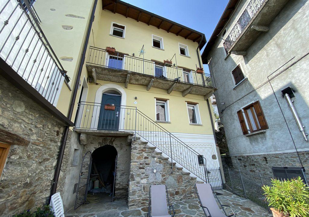Comer See San Siro Haus mit Terrasse und Seeblick - renoviert