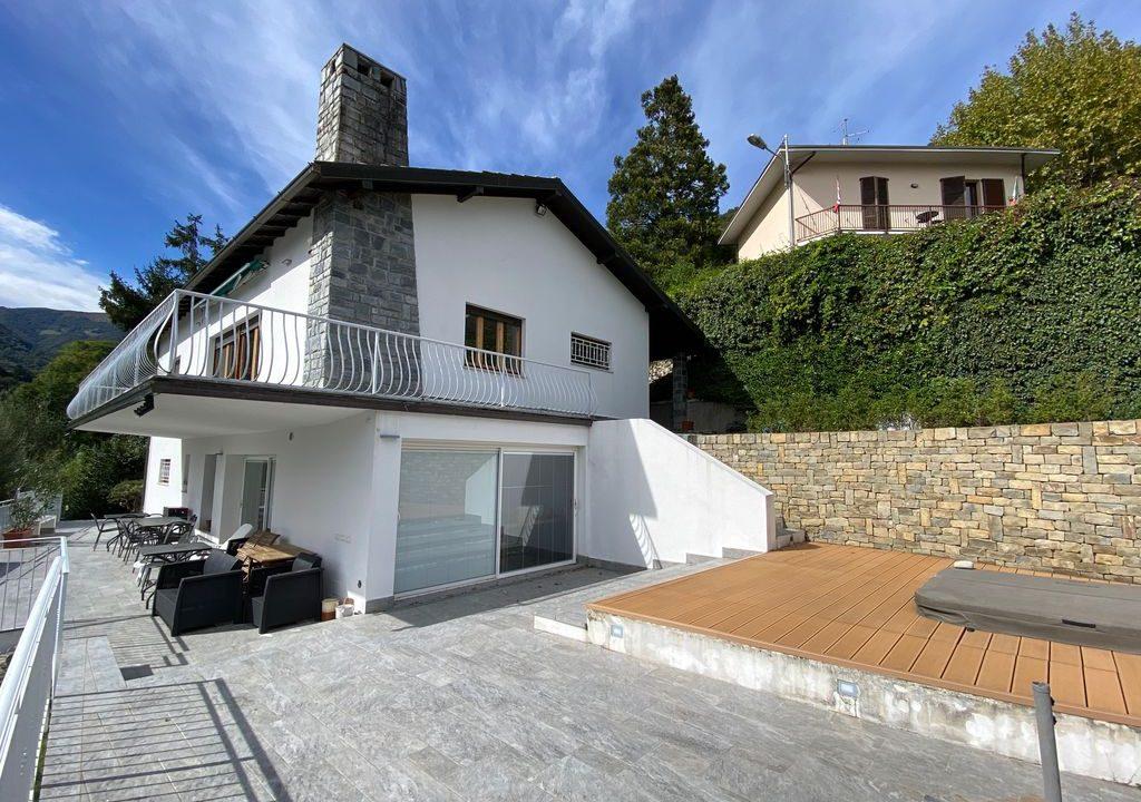 Comer See Argegno Villa mit Seeblick