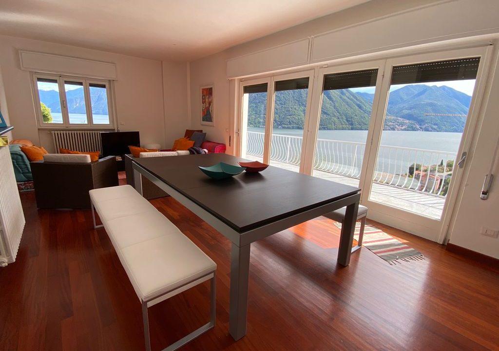 Comer See Argegno Villa mit Seeblick - terrasse