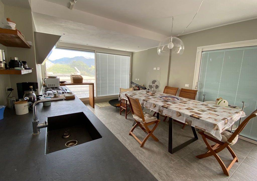 Comer See Argegno Villa mit Seeblick - kuche