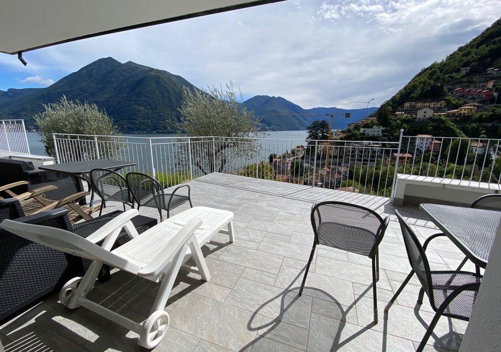 Comer See Argegno Villa mit Seeblick. - terrasse