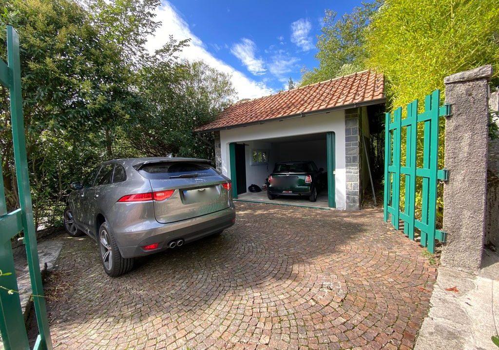 Comer See Argegno Villa mit Seeblick - garage