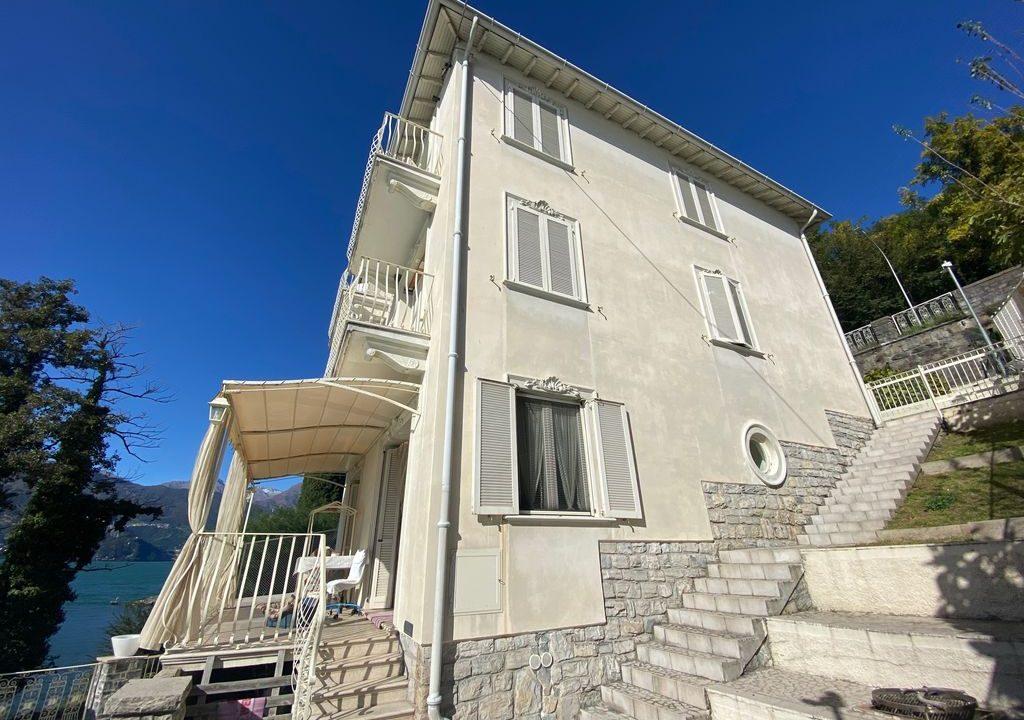 Comer See Dervio Villa Direkt am See - sonnig lage