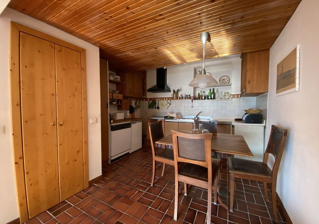 Comer See Domaso Wohnung mit Schwimmbad und Seeblick - cucina