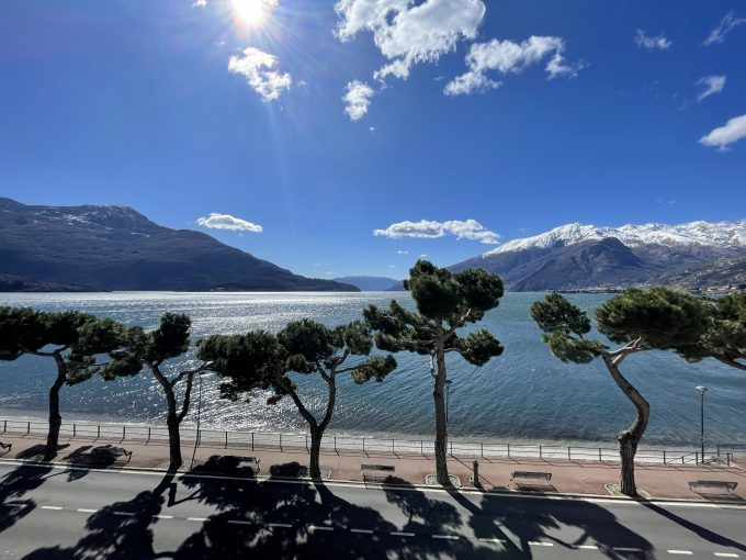 Comer See Domaso Immobilien an der Seepromenade