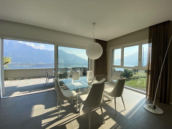 Comer See Vercana Luxuriöses Wohnung mit Terrasse
