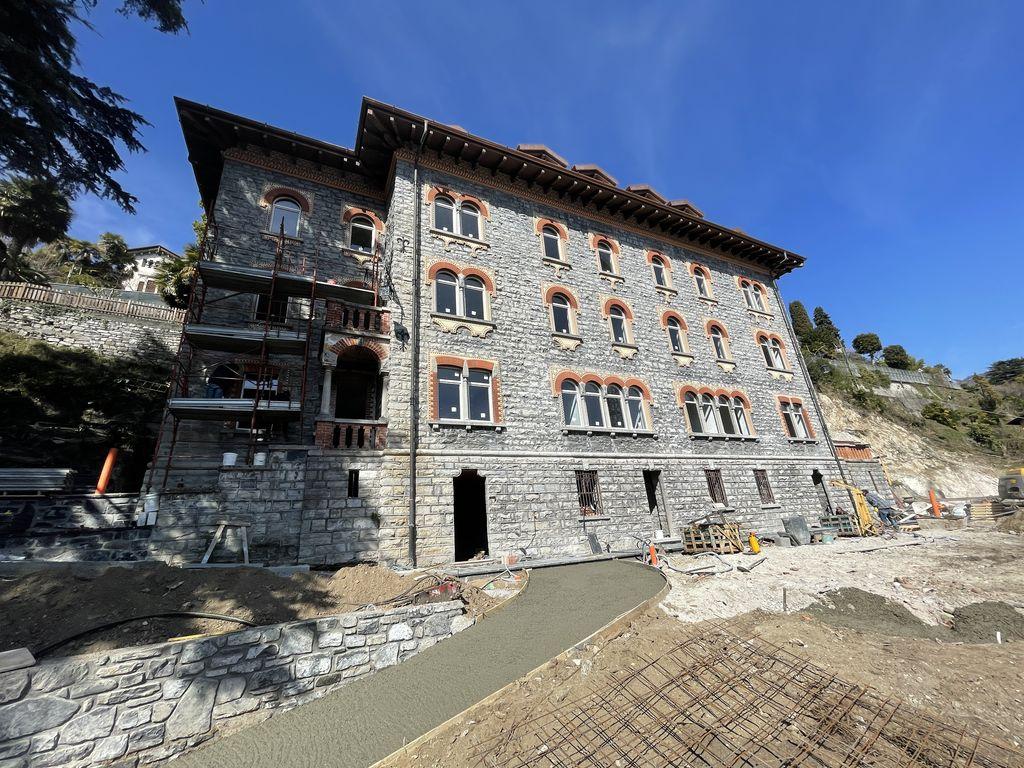 Comer See Menaggio Wohnungen in einer historischen Villa kaufen