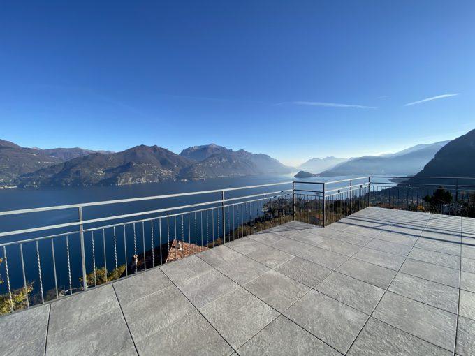 Comer See Menaggio Villa mit Seeblick
