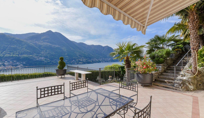 Comer See Moltrasio Wohnung mit Schwimmbad - terrasse