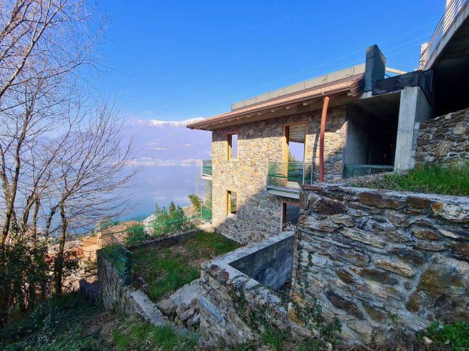 Comer See Bellano Villa Kaufen mit Garten