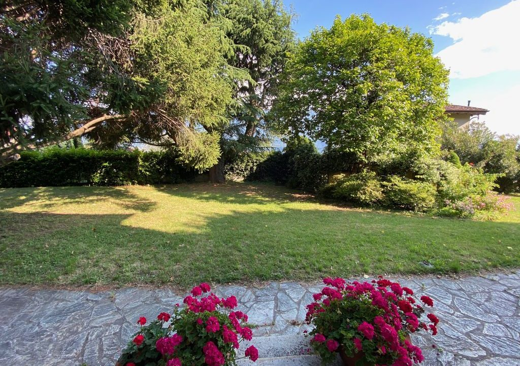 Comer See Domaso Villa mit Garten