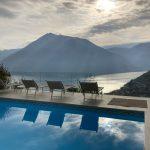 Comer See Argegno Villa mit Pool, Garten und Seeblick - pool und seeblick