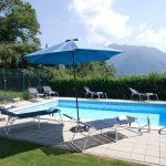 Comer See Argegno Villa mit Schwimmbad, Terrasse und Seeblick - pool