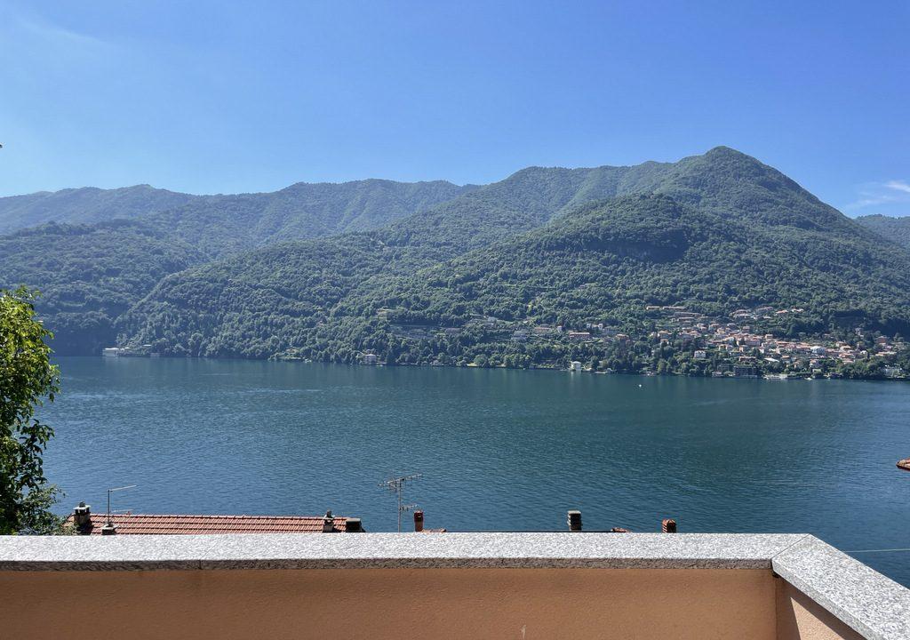 Carate Urio Wohnung mit Blick auf den Comer See