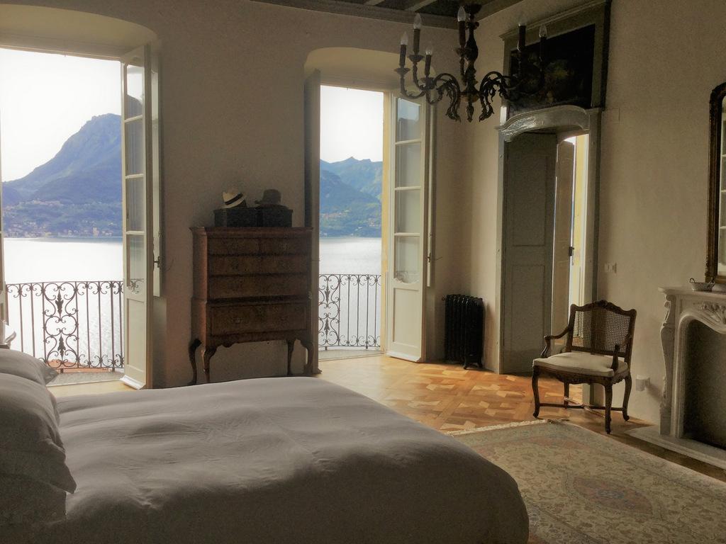 Comer See San Siro Wohnung mit Seeblick, Garten und Terrasse