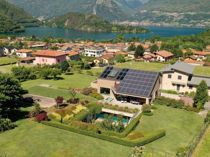 Comer See Colico Villa mit Schwimmbad -
