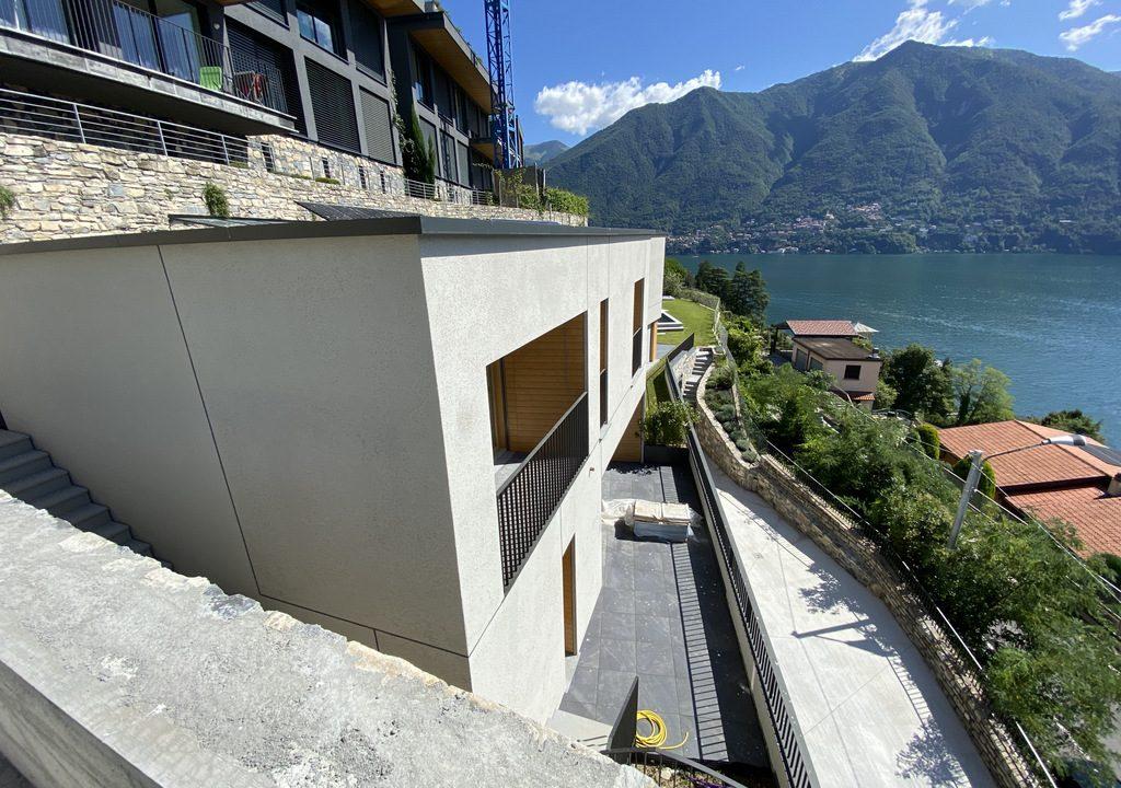 Comer See Carate Urio Modernes Design Villa mit Seeblick