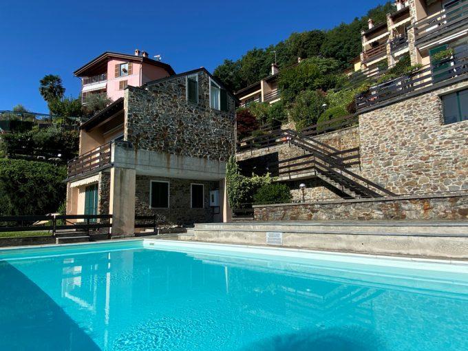 Comer See San Siro Wohnung mit Pool, Terrasse und Seeblick - wohnung