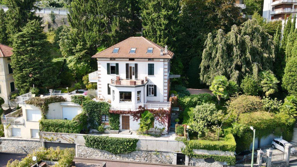 Comer See Como Villa mit Seeblick und Dependance