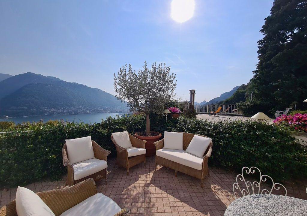 Comer See Como Villa mit Seeblick und Dependance - esterni