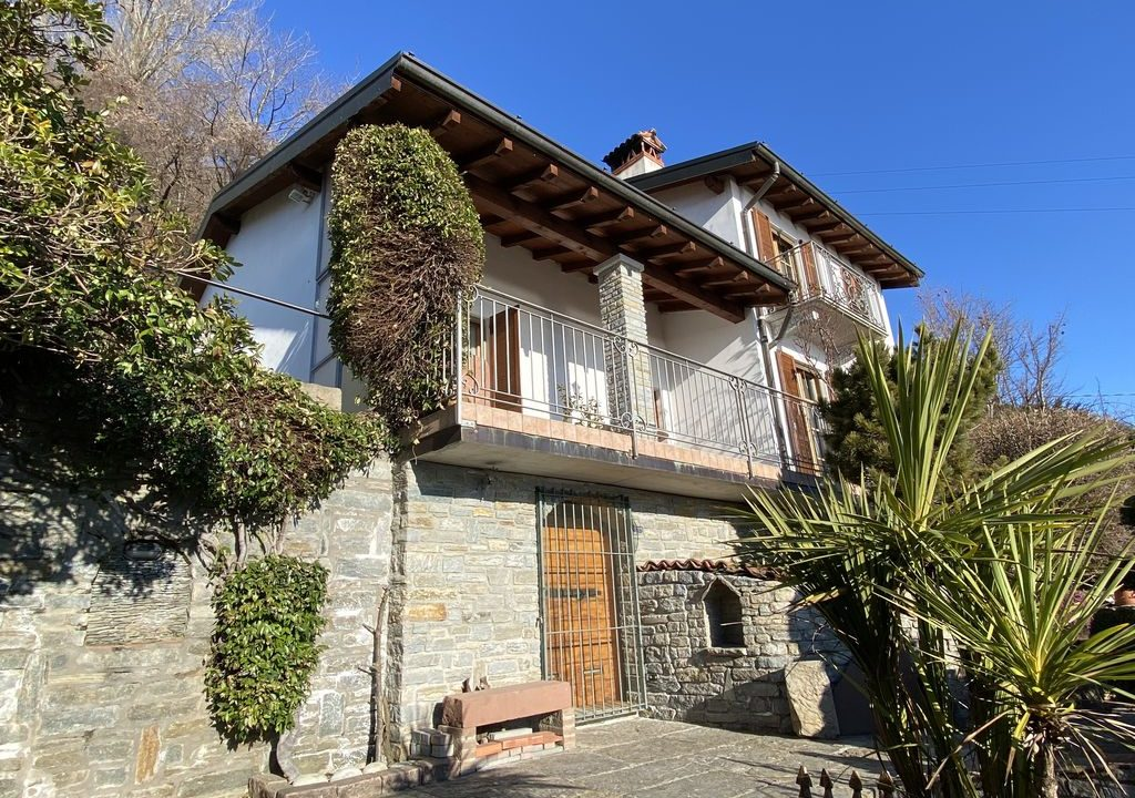Comer See San Siro Villa mit Seeblick